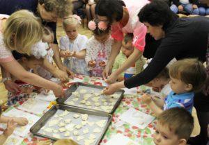 Печем печенье для гостей