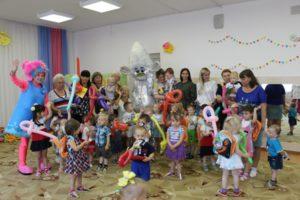 В конце праздника дети получили множество подарков